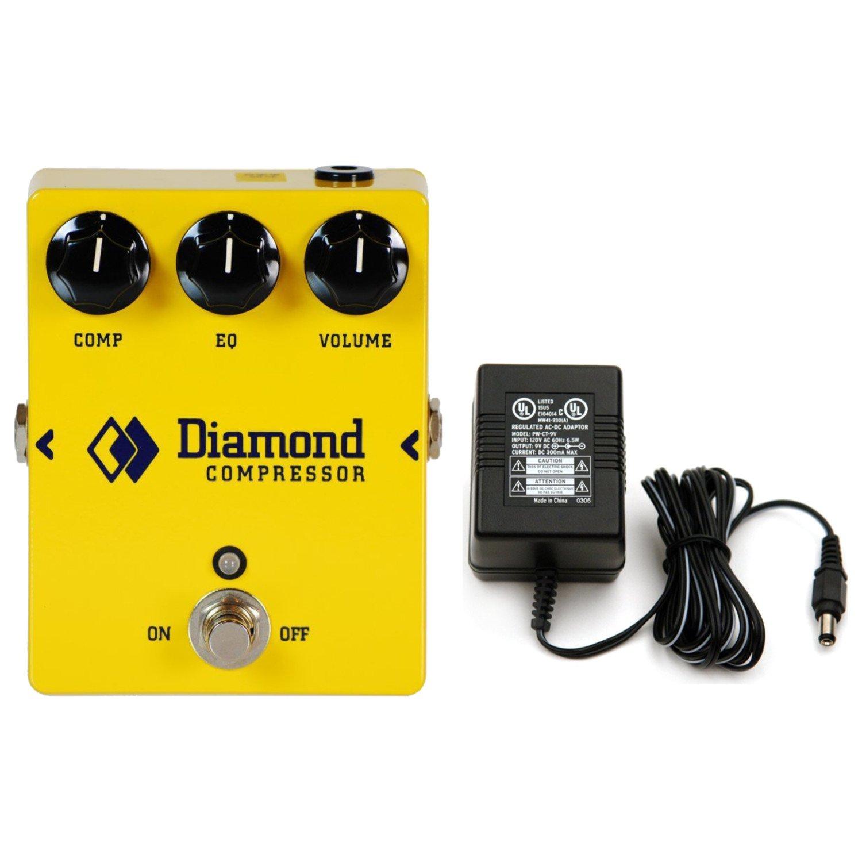 Diamond Compressor - CPR-1 Opto Comp and EQ w/ Power Supply Diamond Pedals CPR-1 BUNDLE