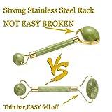 Anti Aging Jade Roller Exfoliating Loofah Pads