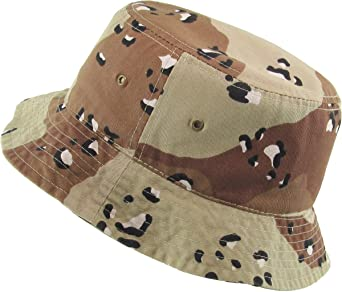 ff7e7884ae4 KBETHOS Unisex 100% Washed Cotton Bucket Hat Summer Outdoor Cap at Amazon  Men s Clothing store