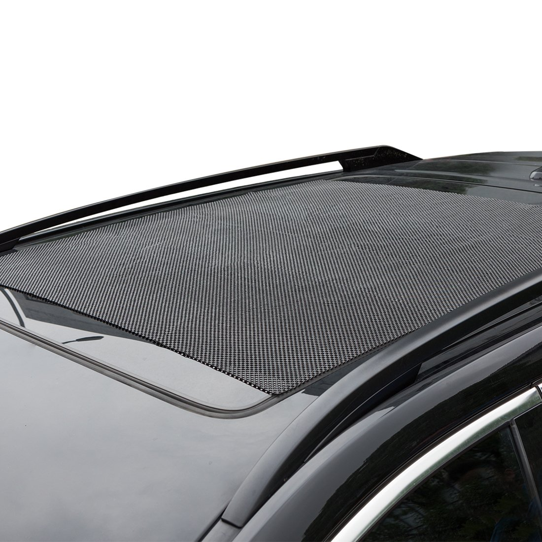 CZC AUTO Car Roof Cargo Carrier Bag Protective Mat Non Slip SUV Rooftop Luggage Rack Pad Anti Skid Truck Bed Protector Universal Work with Vehicle Roof Top Storage Box Crossbar Rack Basket 39x36