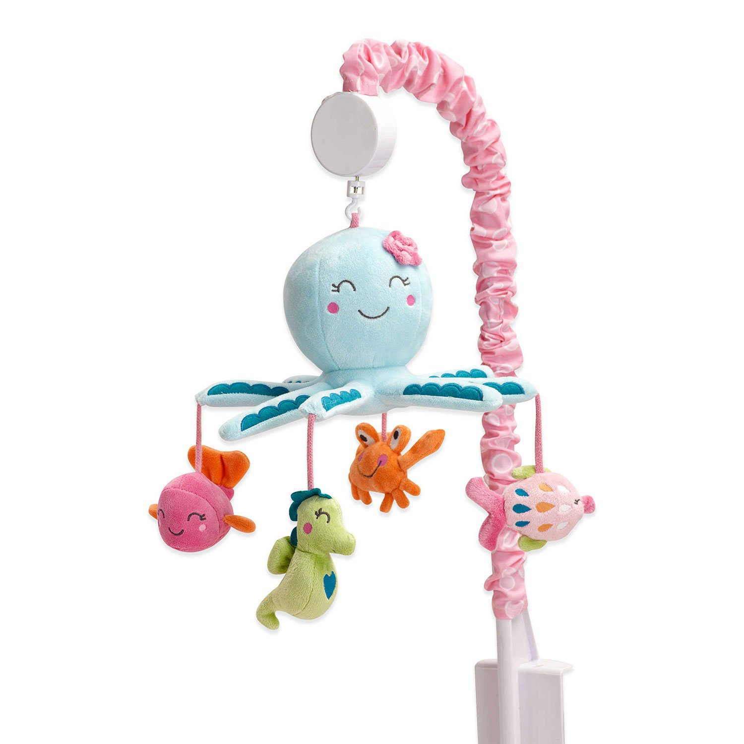Carter's Sea Collection Musical Mobile, Pink/Blue/Turquoise by Carter's