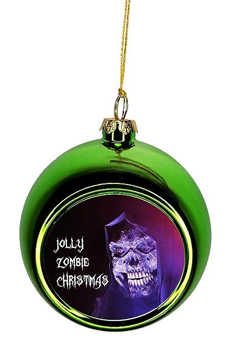 Max Wilder Ornament Zombie Jolly Zombie Christmas Ornaments Green Bauble Christmas  Ornament Balls - Amazon.com: Max Wilder Ornament Zombie Jolly Zombie Christmas