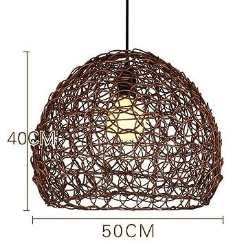 GUO Gzz Deng Inicio Iluminación Al Aire Libre Moderno Colgante de Luz de La Vendimia Lámpara