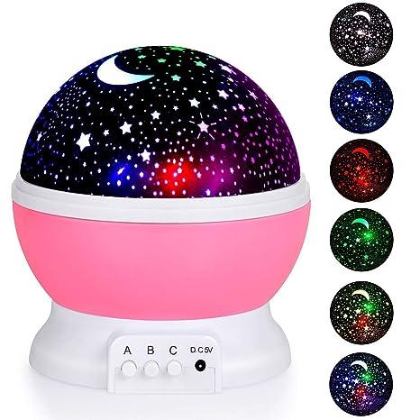 Amazon.com: Stripsun - Proyector de luz nocturna para bebé ...