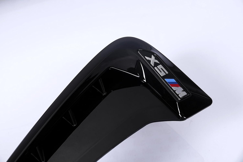 Copertura per condotto di areazione dell/'auto 2 pezzi colore: nero per BMW applicabile sul lato dell/'auto come parafango