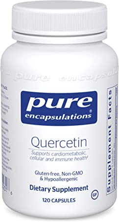 Pure Encapsulations Quercetin | Supplement with Bioflavonoids for Immune, Cellular, and Cardiometabolic Health* - 120 Capsules