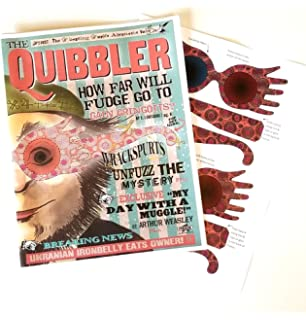 picture relating to Quibbler Printable identify : The Quibbler with Spectrespecs Prop Duplicate