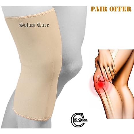 Advance neoprene Closed patella ginocchiera (coppia) – extra lungo per  ginocchio – ritenzione del 1c039e0e7af2