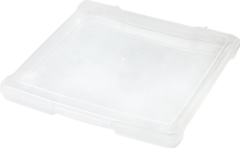 IRIS 12 x 12 Slim Portable Project Case, Clear IRIS USA Inc. 150634