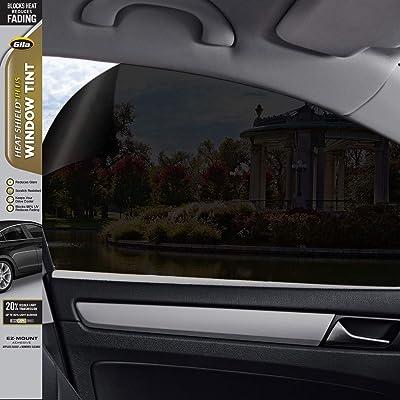Gila Heat Shield Plus 20% VLT Automotive Window Tint DIY Extra Heat Control Glare Control 2ft x 6.5ft (24in x 78in): Automotive