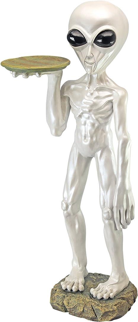 Roswell, the Alien Butler Sculpture