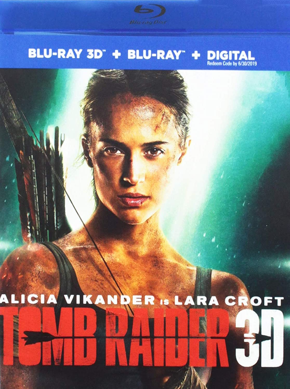 Amazon Com Tomb Raider Blu Ray Alicia Vikander Dominic West