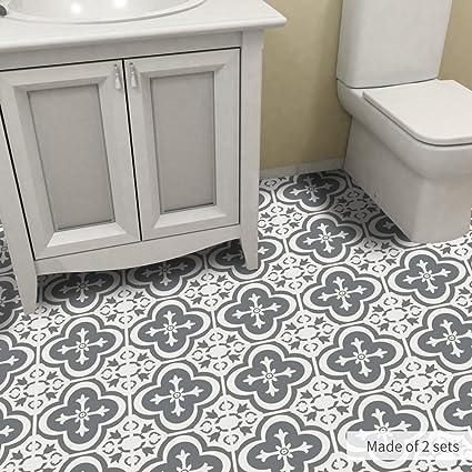 Amazon Com Alwayspon Non Slip Floor Tile Sticker For Home Decor
