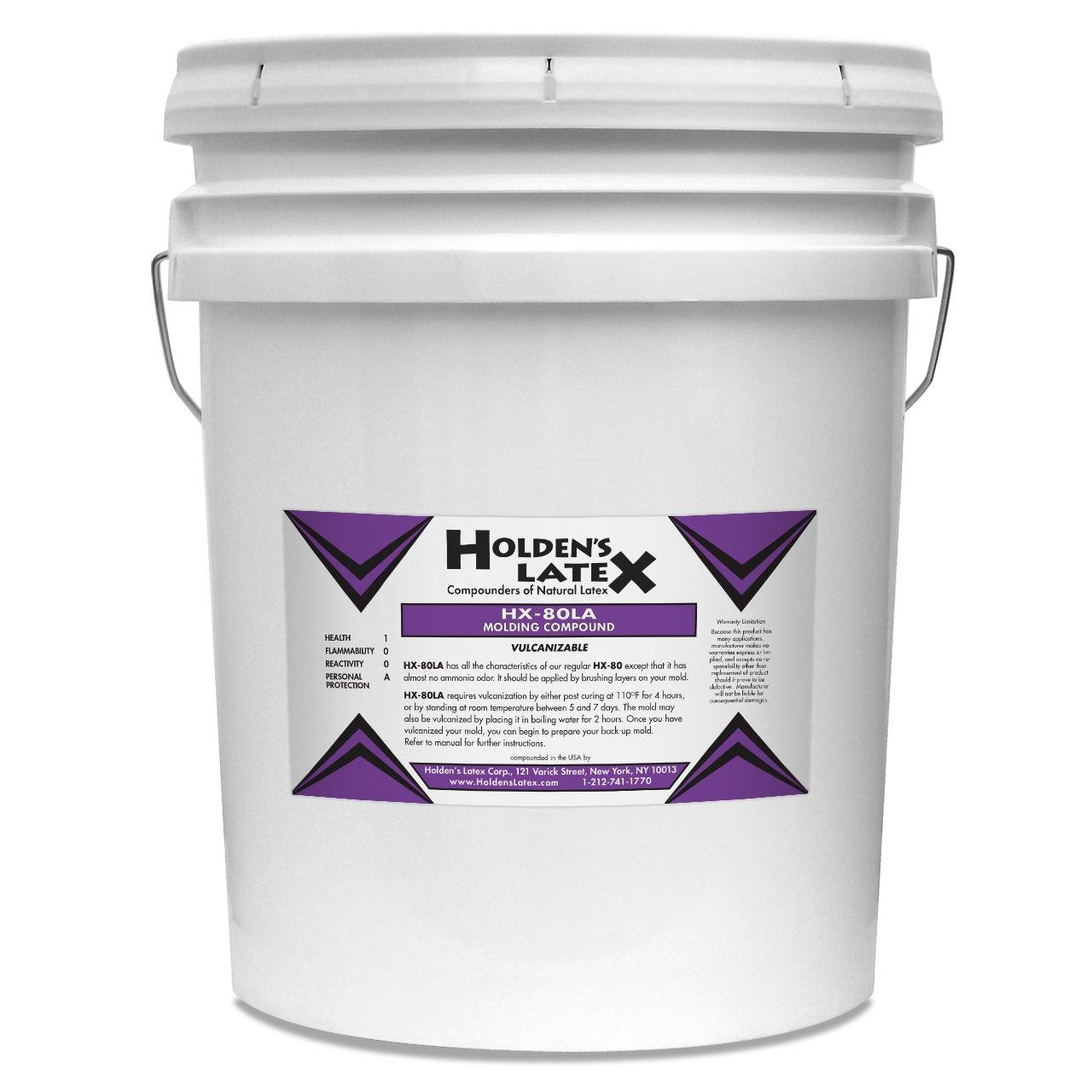 HX-80LA Low Ammonia Liquid Latex Mold Making Rubber (5 Gallon Pail)