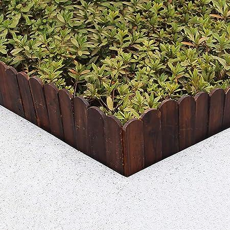 SUBBYE Panel De Valla De Madera, Vallas Decorativas De Valla De Jardín, Paneles De Valla De