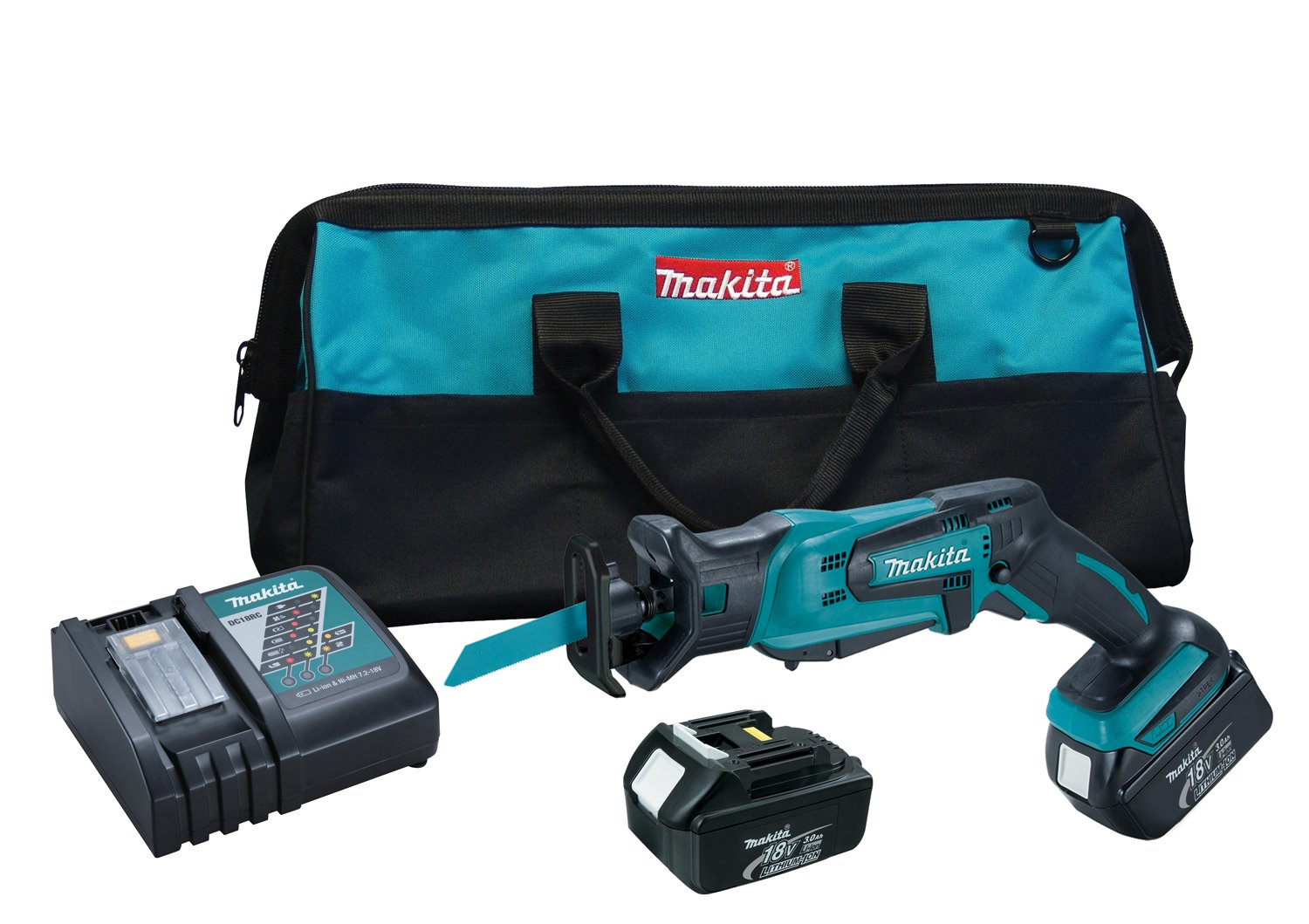 Makita XRJ01 18V LXT Lithium-Ion Cordless Compact Recipro Saw Kit Discontinued by Manufacturer