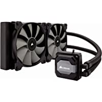 CORSAIR Hydro Series H110i AIO Liquid CPU Cooler, 280mm Radiator, Dual 140mm SP Series PWM Fans, Advanced RGB Lighting and Fan Software Control
