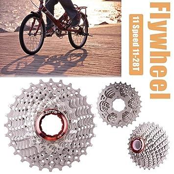 Honmei Bicicleta Rueda Libre,11-28T Quench Hardening 11 Speed Flywheel para Mountain/Road Bike/Coche Plegable: Amazon.es: Deportes y aire libre