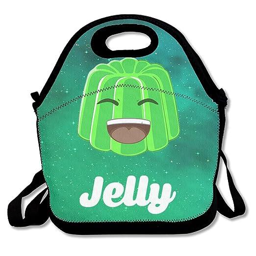 superww kwebbelkop YT Jelly Logo bolsa para el almuerzo Tote ...