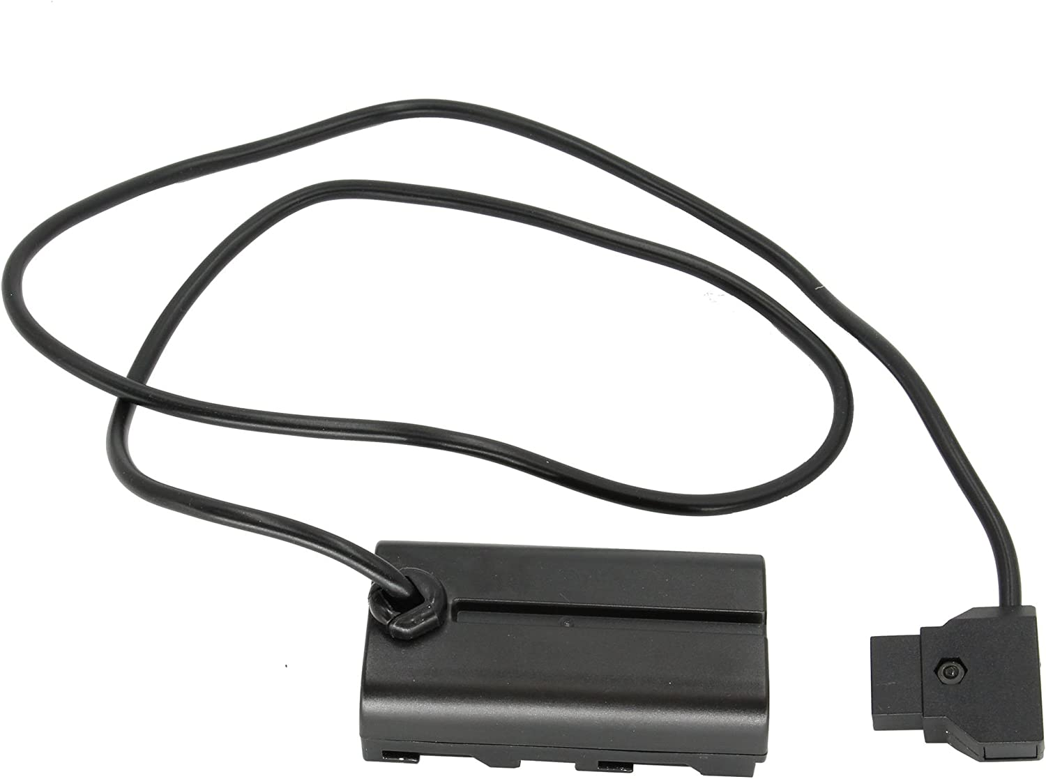 """NP-F970 Sony-L Batteries to Power DCRVX2100 HDRFX1 NP-F570 V12 HD1000U /& HVRZ1U Cameras 4.5A D-Tap to Dummy Battery 30/"""" Straight Adapter Cable to Replace NP-F550 GyroVu High Power"""