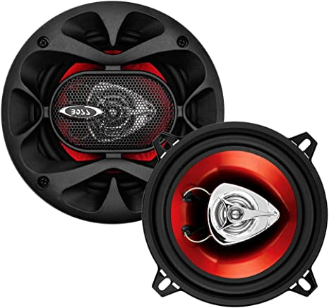 200 Watts of Power Per Pair and 100 Watts Each Easy Mounting 5.25 Inch BOSS Audio Systems CH5520 Car Speakers Sold in Pairs 2 Way Full Range