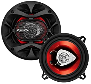 BOSS Audio Systems CH5520 Car Speakers - 200 Watts of Power Per Pair and 100 Watts Each, 5.25 Inch, Full Range, 2 Way, Sold in Pairs, Easy Mounting