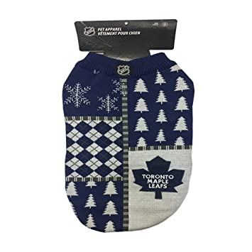 Toronto Maple Leafs Pet Sweater (Medium) e12b3bbe9