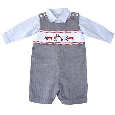 56b13bdfa Carriage Boutique Baby Boy s 2 Pc. Jon Jon   Dress Shirt - Hand ...