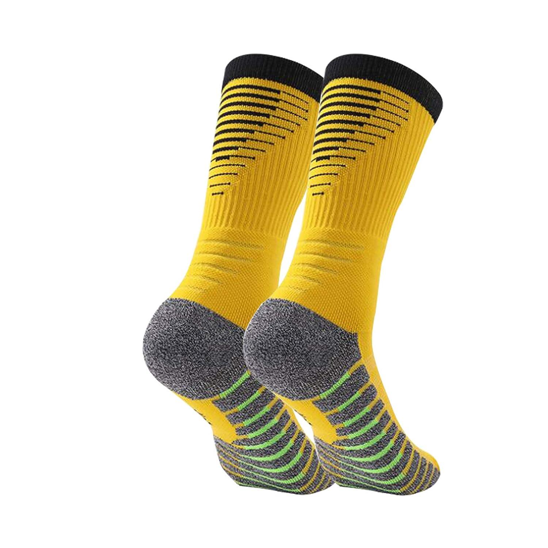 Control de Humedad Manbozix Calcetines de Hombre Calcetines Deportivos Transpirables Calcetines de F/útbol Calcetines Deportivos Antideslizantes Unisex 38-42 1//5 Pares