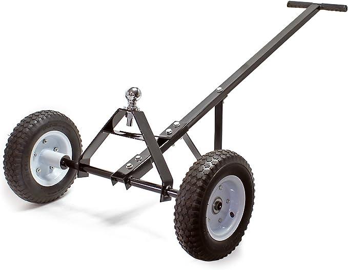 WilTec Ayuda de maniobra para caravanas 110x72x30cm empuñadura 270kg Dispositivo Soporte Camping