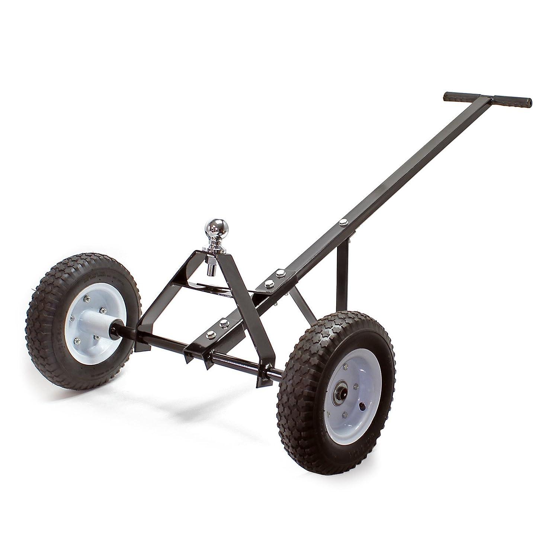Carrito para remolque 110 x 72 x 30 cm con mango, soporta 270 kg, para furgonetas y carabanas WilTec