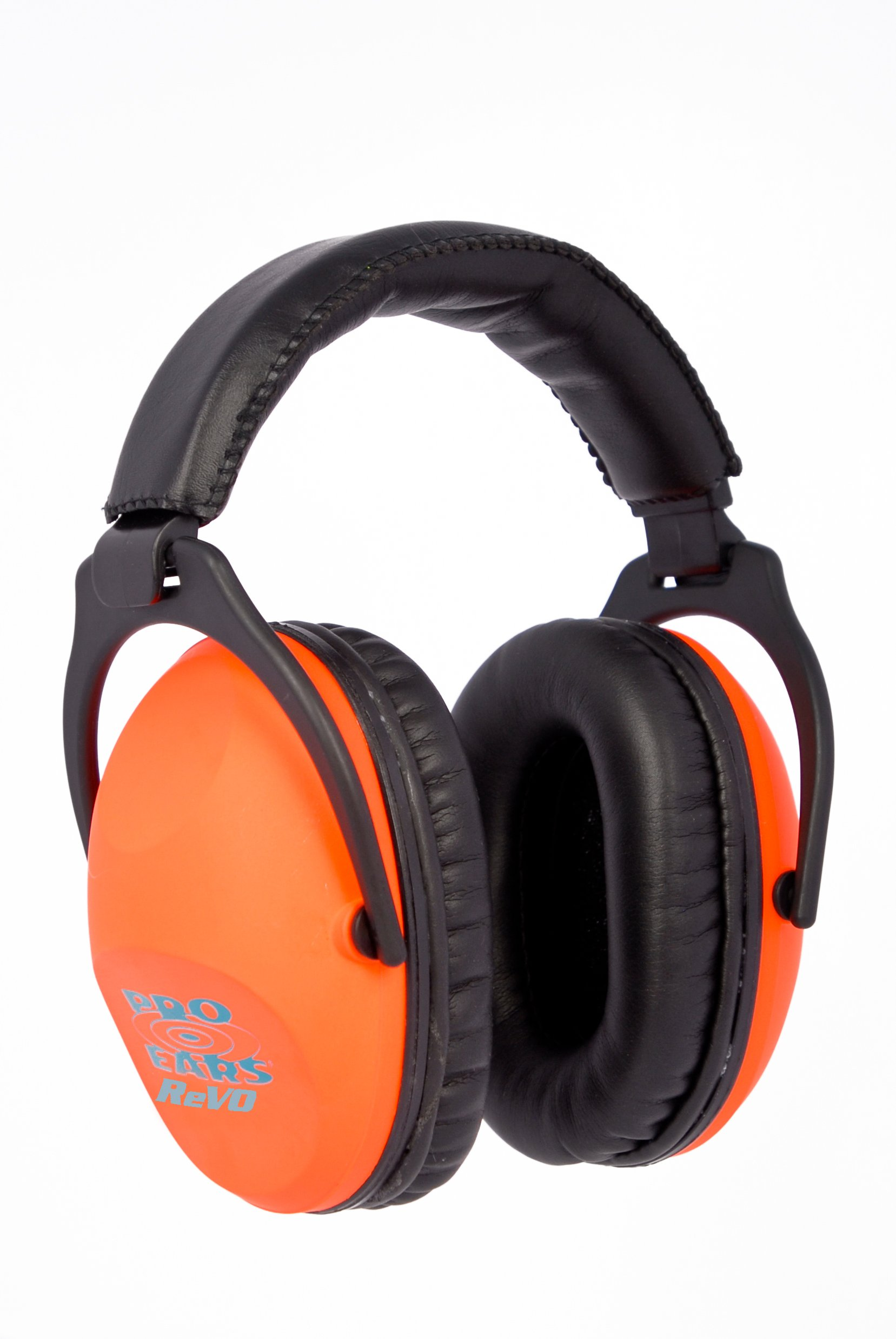 Pro Ears - ReVO - Hearing Protection - NRR 25 - Youth and Women Ear Muffs - Neon Orange