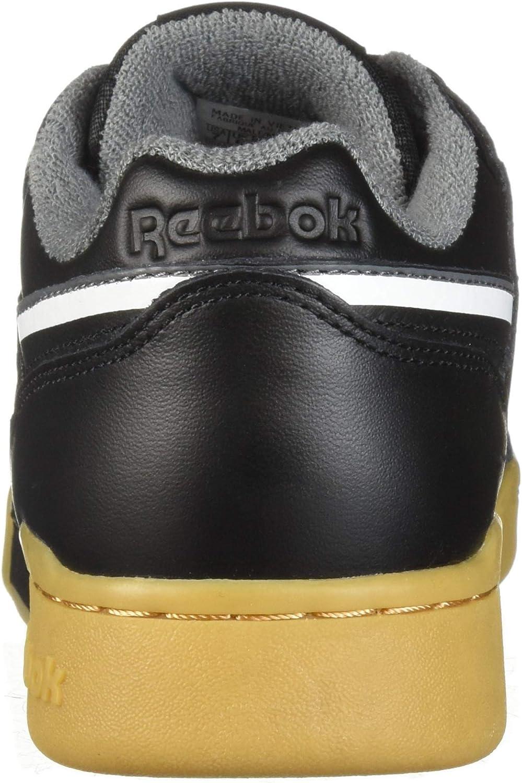 Reebok Workout Plus Mu Mens Shoes Black//White//Alloy dv4300