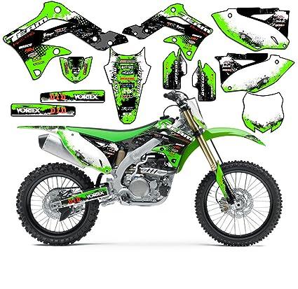 Amazoncom Team Racing Graphics Kit For 2014 2019 Kawasaki Kx 85