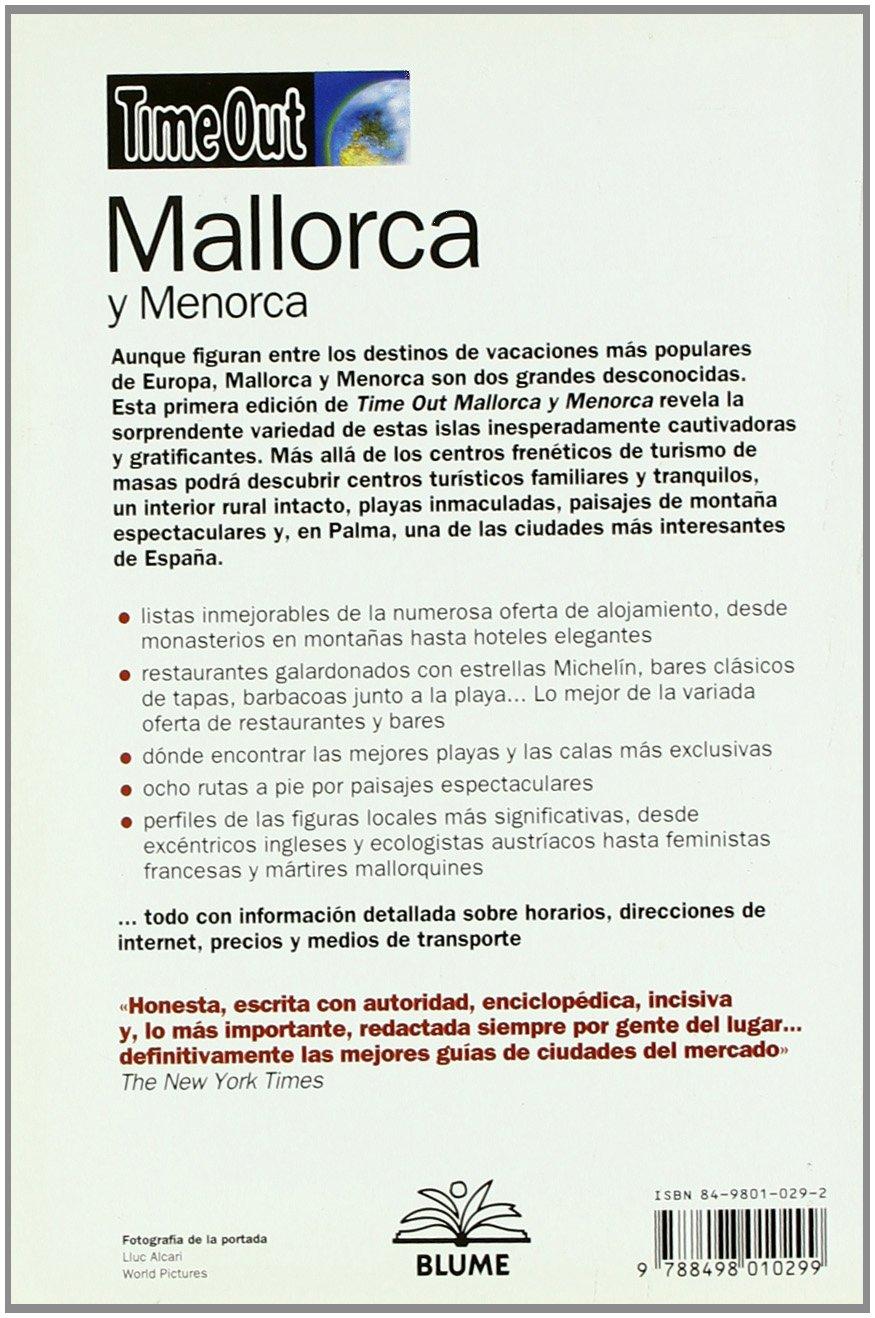 Time Out MALLORCA Y MENORCA: MALLORCA Y MENORCA, TIME OUT: Amazon.es: Aa.Vv.: Libros