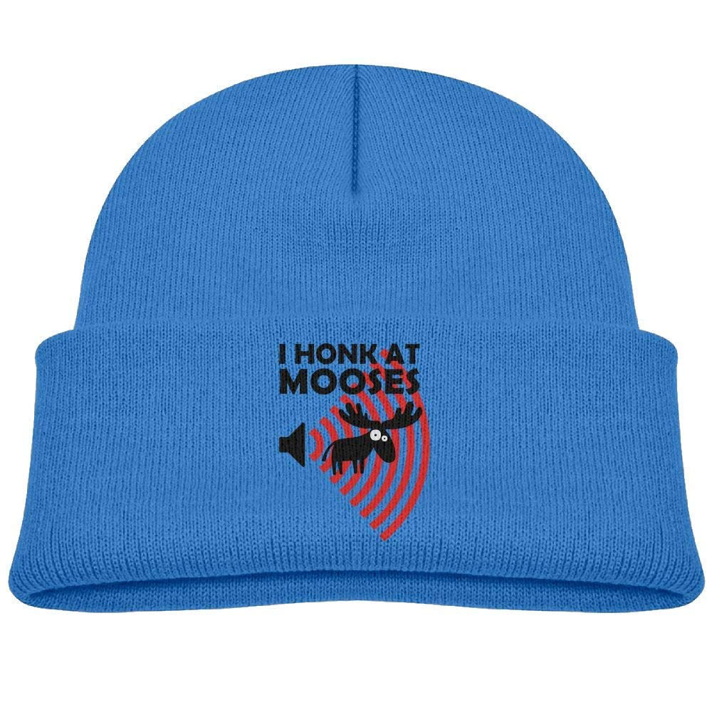 gigweri7 I Honk at Mooses Beanie Caps Baby Girls