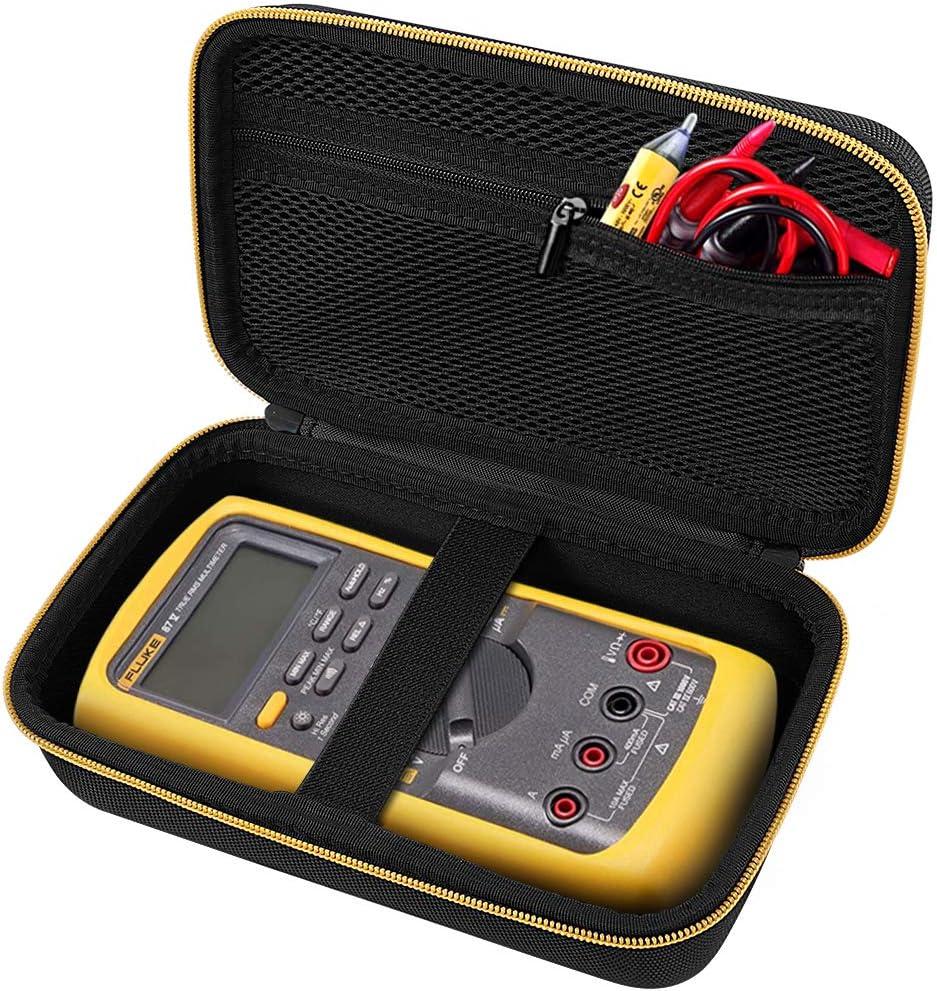 TRMS 6000 Counts Volt Meter Storage bag for Digital Multimeter Hard Tool Case