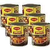 maggi ravioli in pikanter sauce teigtaschen mit rindfleisch f llung leckeres fertiggericht f r. Black Bedroom Furniture Sets. Home Design Ideas