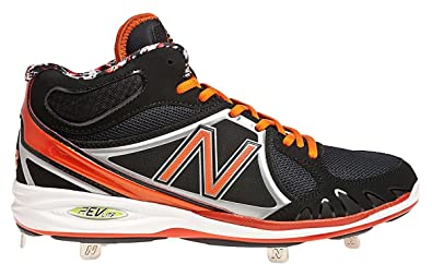 b68b7f9d32b86 Image Unavailable. Image not available for. Color: New Balance Mens Mb3000  Mid Metal Baseball Cleats ...