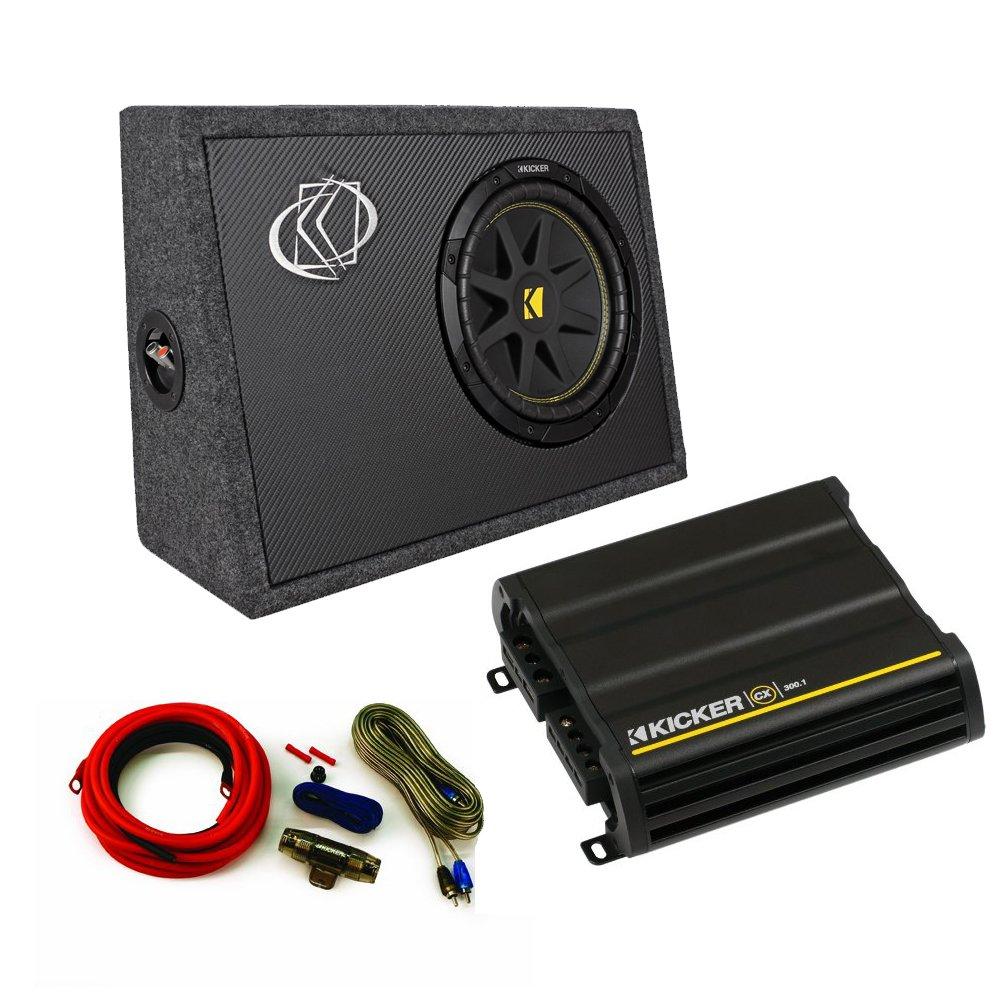Amazon.com: Kicker Truck Bundle with 10TC102 Box + 12CX3001 ...