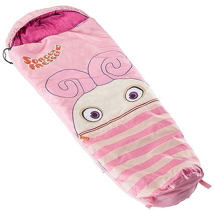 skandika Sorgenfresser Polli - Saco de dormir para niños unisex, color rosa