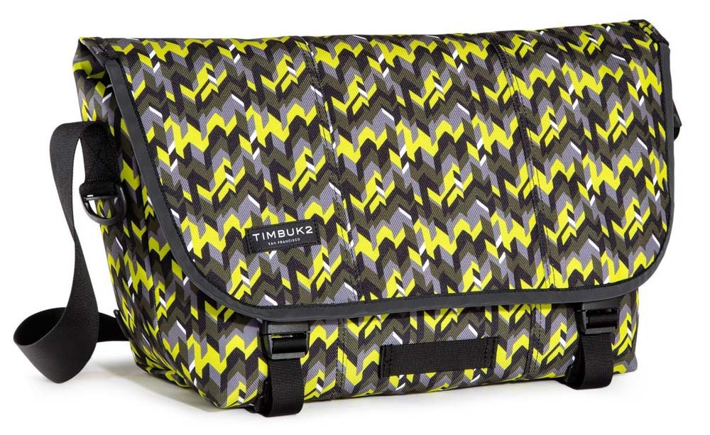 Timbuk2 Classic Print Messenger Bag, Chevron Pop, Medium by Timbuk2