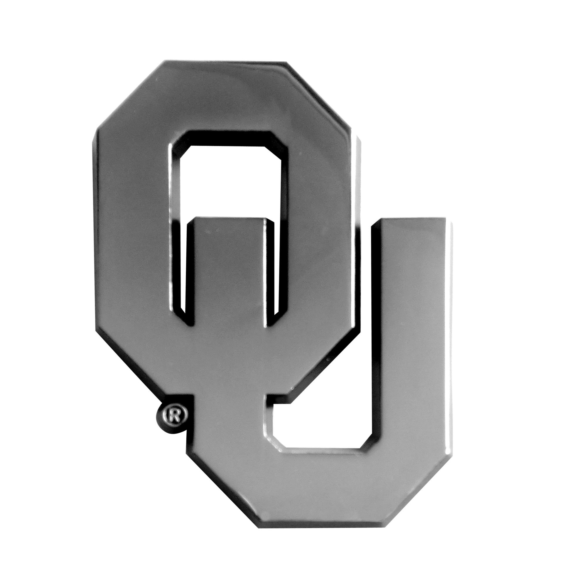 FANMATS  14923  NCAA University of Oklahoma Sooners Chrome Team Emblem