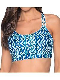 Sunsets Womens Taylor Bralette Bikini Top Swimsuit with Underwire Bikini Top