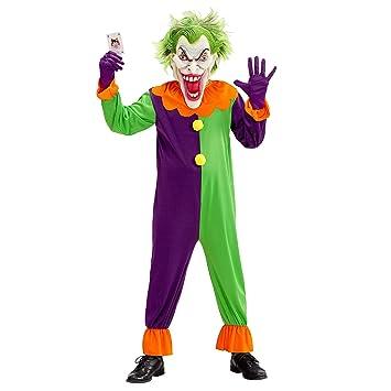 WIDMANN wdm07318 ? Disfraz Evil Joker, Morado, Small: Amazon.es ...