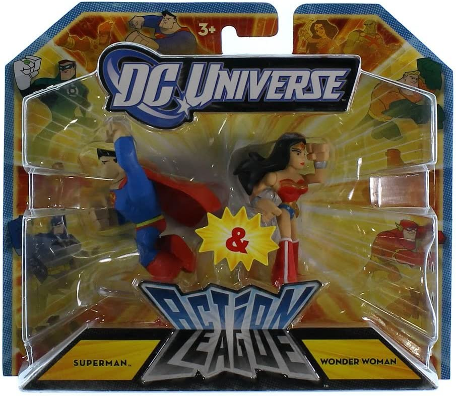 DC Universe 2.25 inch Mini Action League 2-Pack - Superman and ...