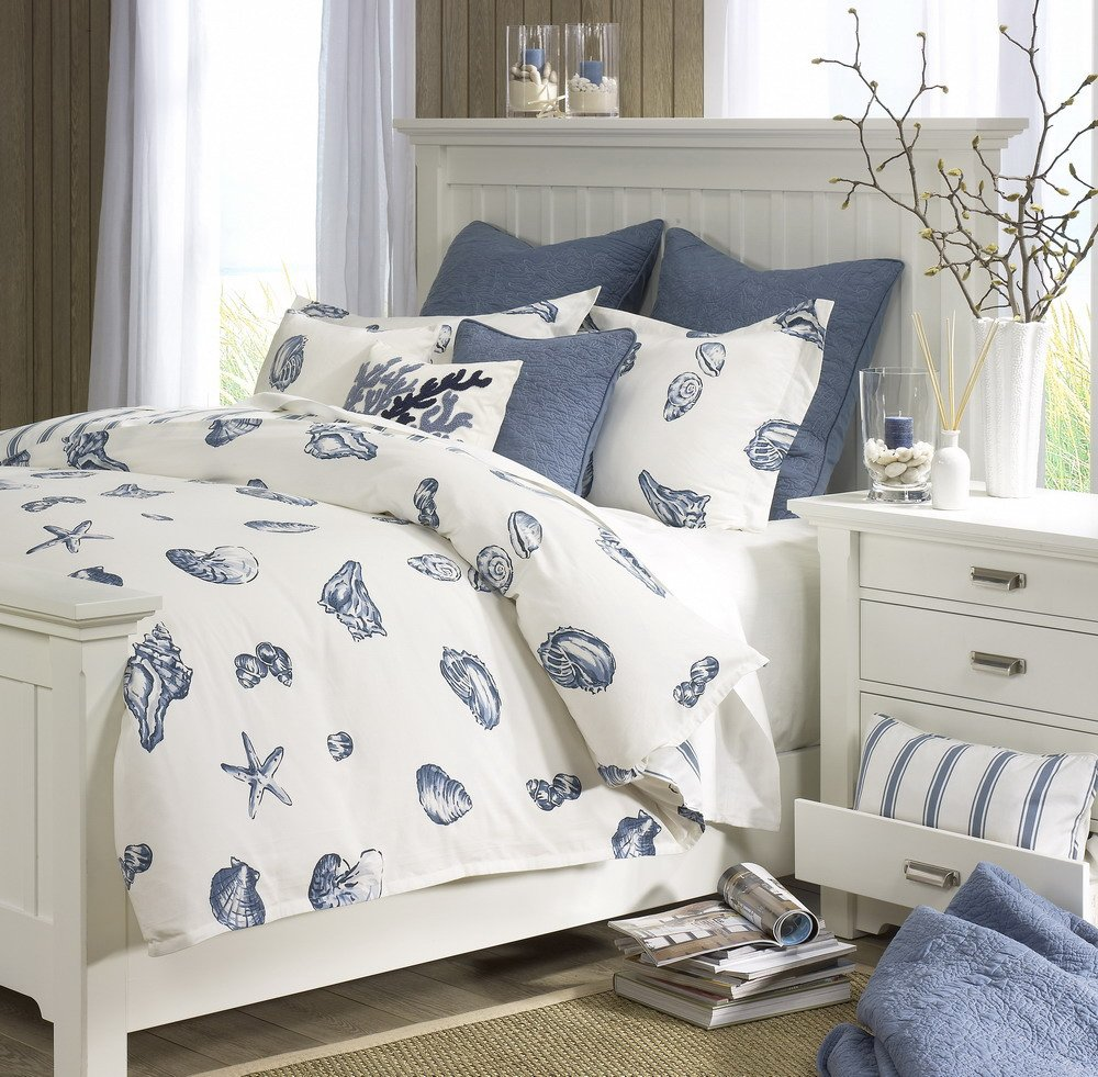 Harbor House Beach House King Comforter Set, Blue