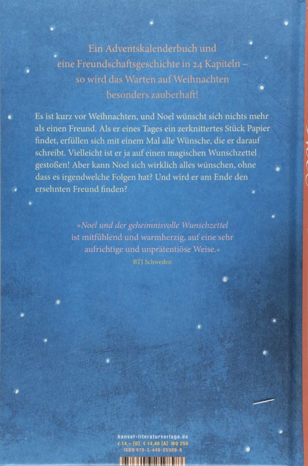 Noel und der geheimnisvolle Wunschzettel: Amazon.de: Janina Kastevik ...