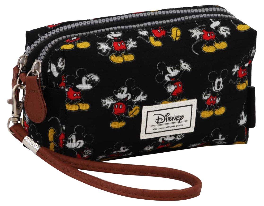 Disney Classic Mickey Moving Kulturtasche, 19 cm, Schwarz (Negro) Karactermania 36397