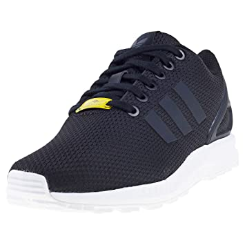 best website 226e1 f6244 Image Unavailable. Image not available for. Colour  adidas Zx Flux Unisex  Trainers Black - 11 UK